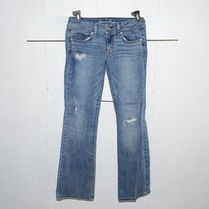 American eagle original womens jeans size 6 X 33